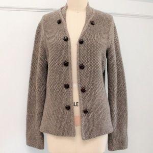 Max Mara Yak Wool Chunky Cardigan Sweater XL